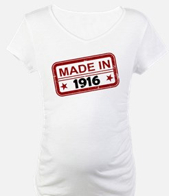Stamped Made In 1916 Shirt