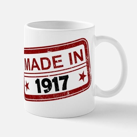 Stamped Made In 1917 Mug