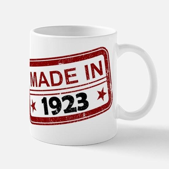 Stamped Made In 1923 Mug