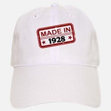 Stamped Made In 1928 Baseball Baseball Cap
