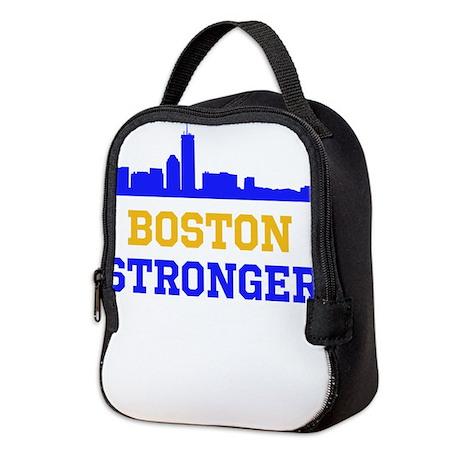 Boston Stronger Neoprene Lunch Bag