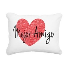 best friend- Spanish Rectangular Canvas Pillow