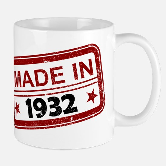 Stamped Made In 1932 Mug