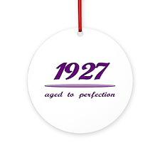 Perfect 1927 Ornament (Round)