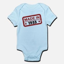 Stamped Made In 1933 Infant Bodysuit