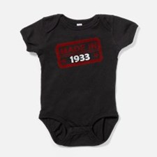 Stamped Made In 1933 Baby Bodysuit