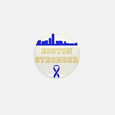 Boston Stronger Ribbon Mini Button (10 pack)