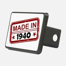 Stamped Made In 1940 Hitch Cover