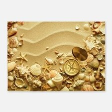 Beach Dream 5'x7'Area Rug