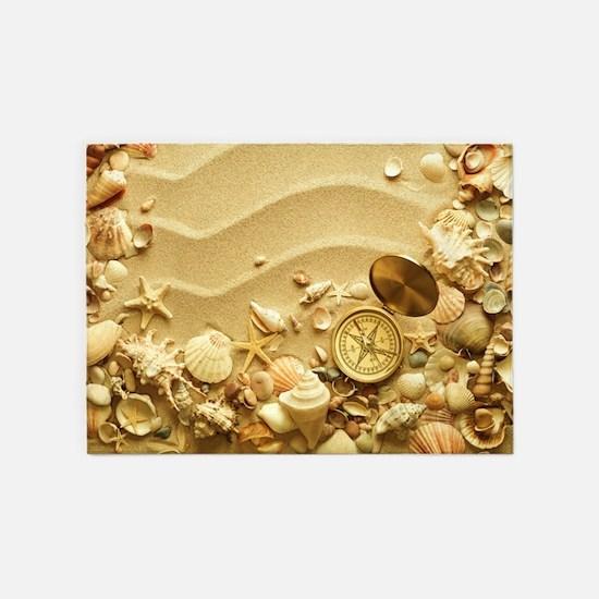 Beach Dream 5'x7'Area Rug