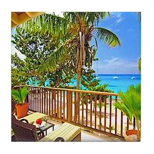 Tropical Delight Tile Coaster