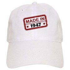 Stamped Made In 1947 Baseball Cap