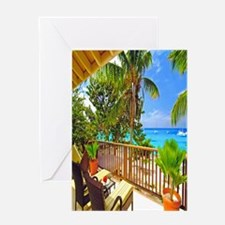 Tropical Delight Greeting Cards