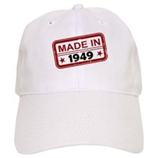 Stamped Made In 1949 Baseball Cap