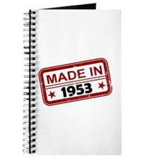 Stamped Made In 1953 Journal