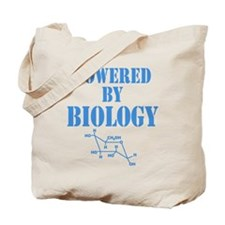 Powered By Biology Tote Bag