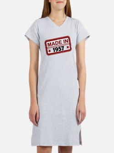 Stamped Made In 1957 Women's Nightshirt