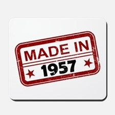 Stamped Made In 1957 Mousepad