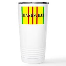 Thanks, Dad (tall) Travel Mug