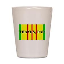 Thanks, Dad (tall) Shot Glass