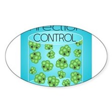 Cute Disease control and prevention Decal