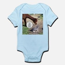 wash your hands black.png Infant Bodysuit