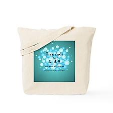 2-Flu Magnet green.png Tote Bag
