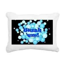 Cute Infection control Rectangular Canvas Pillow