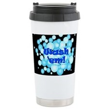 Cute Influenza Travel Mug