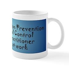IPCP at work bumper sticker Mugs