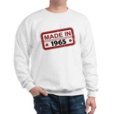 Stamped Made In 1965 Sweatshirt