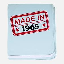 Stamped Made In 1965 Infant Blanket