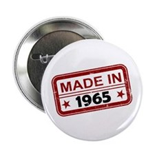 "Stamped Made In 1965 2.25"" Button (10 pack)"