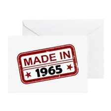 Stamped Made In 1965 Greeting Card