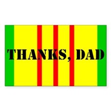 Cute Vietnam dad Decal