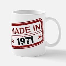 Stamped Made In 1971 Mug