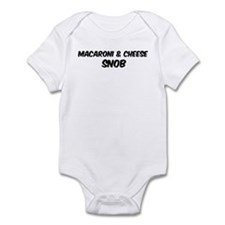 Macaroni & Cheese Infant Bodysuit