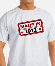Stamped Made In 1972 T-Shirt