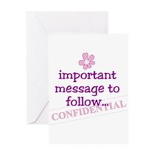 confidential pregnancy announcement card (10) Gree