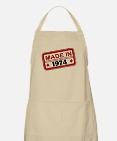 Stamped Made In 1974 Apron