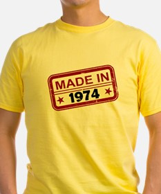 Stamped Made In 1974 T