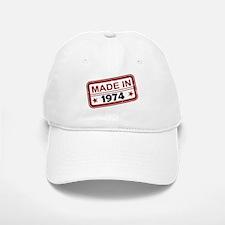 Stamped Made In 1974 Baseball Baseball Cap