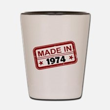 Stamped Made In 1974 Shot Glass