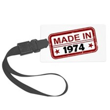Stamped Made In 1974 Luggage Tag