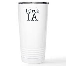 I Grok IA Travel Mug