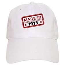 Stamped Made In 1975 Baseball Cap