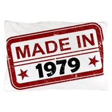 Stamped Made In 1979 Pillow Case