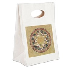 STAR OF DAVID Canvas Lunch Tote