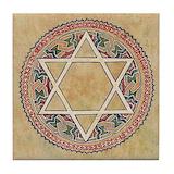 Jewish Tile Coasters