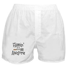Flippin Awesome Cooking Boxer Shorts